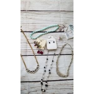 Fashion Jewelry Mixed Lot Necklaces and Earrings